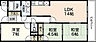 間取り,3LDK,面積71.97m2,賃料9.5万円,JR山陽本線 五日市駅 徒歩8分,広島電鉄宮島線 広電五日市駅 徒歩6分,広島県広島市佐伯区吉見園