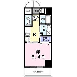 神奈川県相模原市緑区橋本3丁目の賃貸マンションの間取り