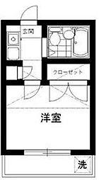 東京都豊島区千早3丁目の賃貸アパートの間取り