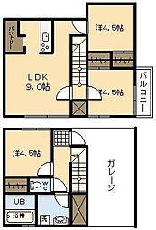 (新築)Ko Olina Yoshimura[C-1号室]の間取り