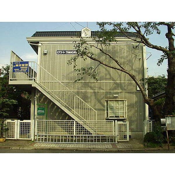 ピアコートTAMAGAWA[0201号室]の外観