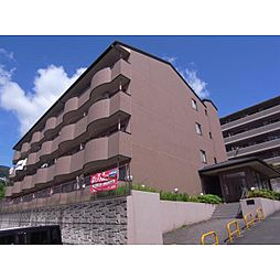 奈良県生駒市東旭ケ丘の賃貸マンションの外観