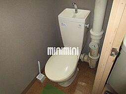 GIFU長住ビルの清潔感のあるトイレです。