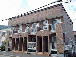 北海道札幌市手稲区西宮の沢四条2丁目の賃貸アパートの外観