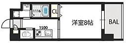 グランドゥーエ永和駅前[207号室]の間取り