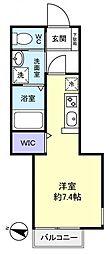 エターナル勝田台[1階]の間取り