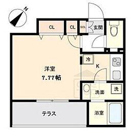 Branche覚王山[1階]の間取り
