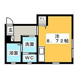 ピアチェーレ桜[2階]の間取り