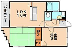 メイグレイス88[2階]の間取り