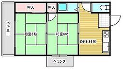 金剛マンション[3階]の間取り