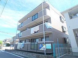 ドエル西富田[2階]の外観