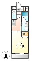 Ceres鶴舞(旧第2三恵ハイツ)[6階]の間取り
