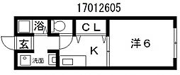 第2田辺マンション[1階]の間取り