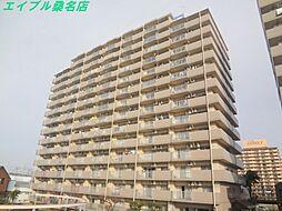 三重県桑名市大字福島の賃貸マンションの外観