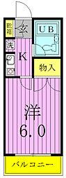 プログレス藤ノ台[2階]の間取り