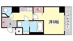 KAISEI神戸海岸通[1103号室]の間取り