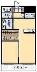 (新築)フュージョン大橋[501号室]の間取り