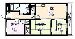 ドリーム松村弐番館[5階]の間取り