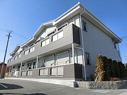 愛知県稲沢市長野3丁目の賃貸アパートの外観