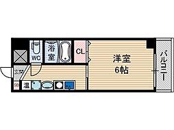 ドロメンスカセ三番館[6階]の間取り