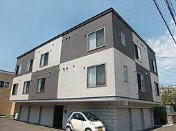 北海道札幌市東区北三十一条東6丁目の賃貸アパートの外観