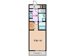 Casa Popolare[2階]の間取り