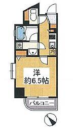 グリフィン横浜・西口壱番館[2階]の間取り