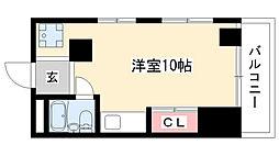 愛知県長久手市塚田の賃貸マンションの間取り