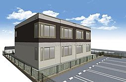 広島県福山市伊勢丘3丁目の賃貸アパートの外観