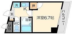 サニーガーデン[6階]の間取り