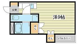 兵庫県姫路市河間町の賃貸マンションの間取り