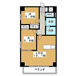 スタジオスクエア大須[10階]の間取り