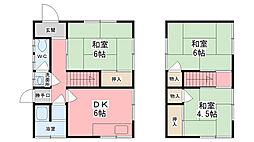[一戸建] 兵庫県姫路市広畑区才西ノ山 の賃貸【/】の間取り