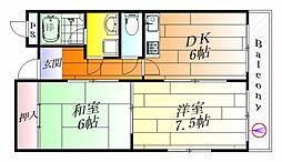 CASA庄屋[2階]の間取り