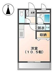 エスポワール小川[2階]の間取り