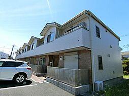 神奈川県大和市西鶴間6丁目の賃貸アパートの外観