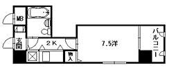 朝日プラザ横川駅前[3階]の間取り