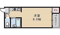 セラ鶴ヶ丘[505号室]の間取り