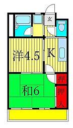 グレイスヤマダ[3階]の間取り