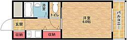 三研BLDアンビション大阪[4階]の間取り