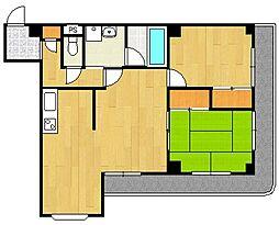 ジョーマリーハイツII[2階]の間取り