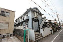 愛知県名古屋市中川区野田1の賃貸アパートの外観