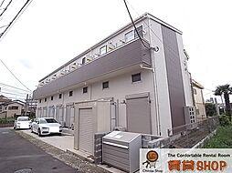 千葉県船橋市前原西7の賃貸アパートの外観