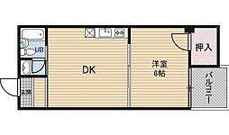 新大阪川島マンション[9階]の間取り