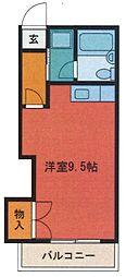 埼玉県さいたま市浦和区上木崎3丁目の賃貸マンションの間取り