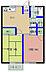 間取り,2DK,面積41.31m2,賃料4.6万円,JR常磐線 赤塚駅 徒歩27分,,茨城県水戸市河和田町945番地