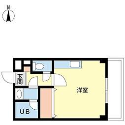 新潟県新潟市中央区川岸町3丁目の賃貸マンションの間取り