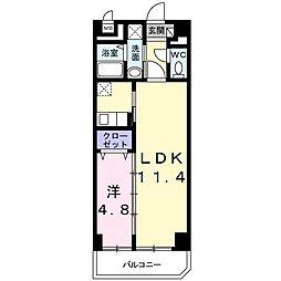 ベルテ東武練馬[6階]の間取り