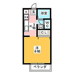 グランデュア21[2階]の間取り