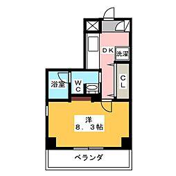 GRAN 30 NAGOYA[11階]の間取り
